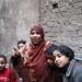Small photo of Families living in Cairo slum area