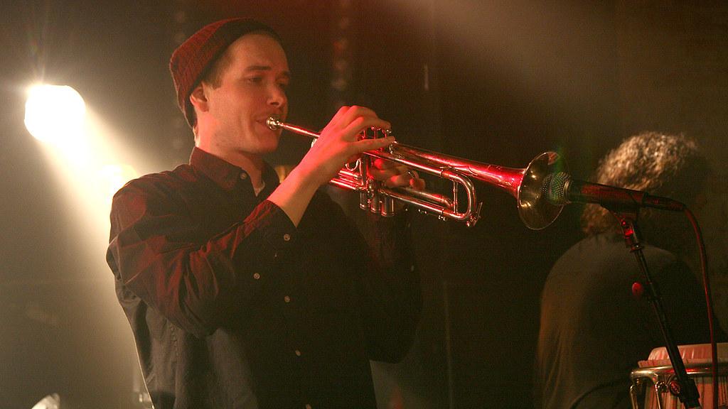 Mathias Stubø Band på Urørt-scenen under by:Larm 2012. Foto: Jørn Gjersøe, NRK.