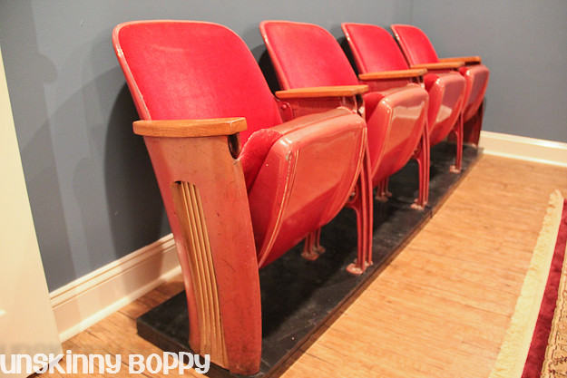 basement theater chairs