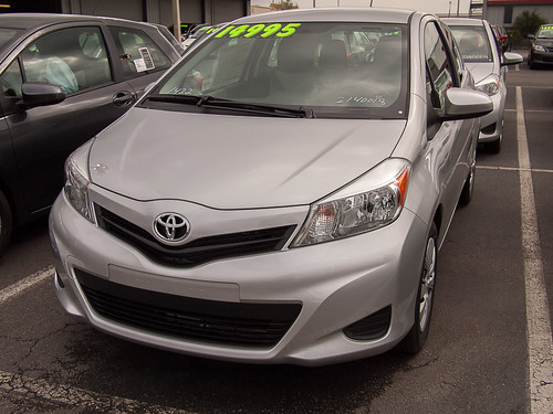 Gunmetal Gray 2012 Yaris