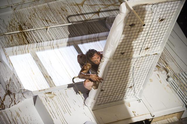 Edward Watson as Gregor Samsa in The Metamorphosis © ROH 2011