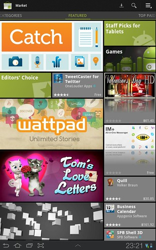 Android Market new design