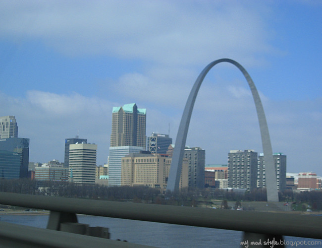 St Louis Over Bridge