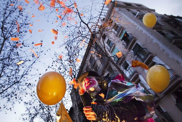 La Taronjada, la batalla de Carnaval