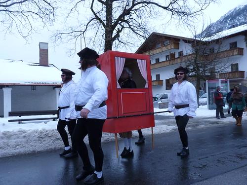 Der Farchanter Karnevalsumzug 2012