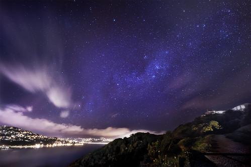 無料写真素材, 自然風景, 空, 夜空, 星