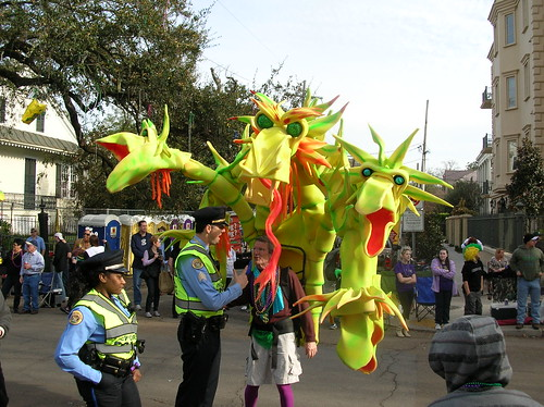 Dragon and NOPD