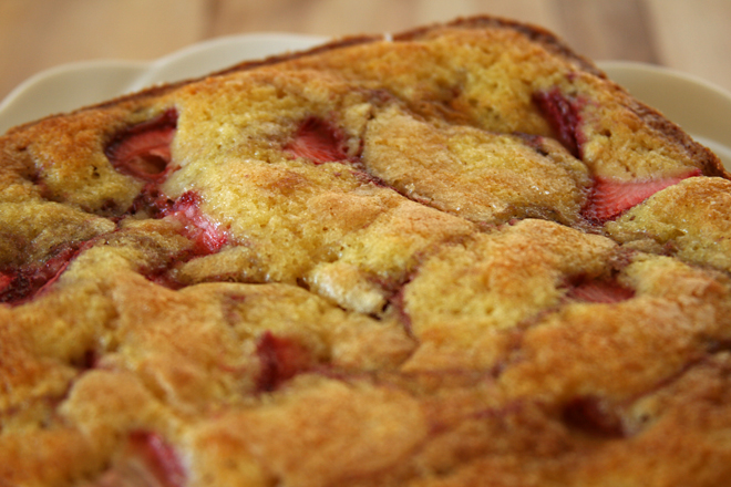 strawberry buttermilk cake 5