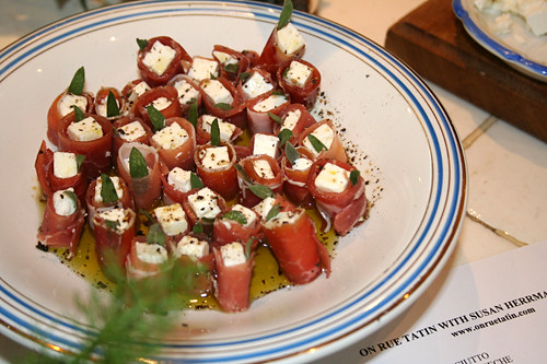 ... Appetizers: Dukkah & Feta Wrapped with Prosciutto - David Lebovitz