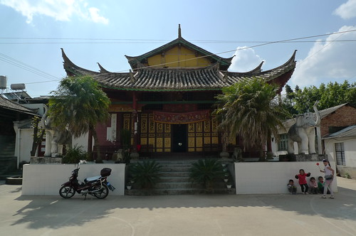 Theravada Buddhist Temple - Lincang, Yunnan, China