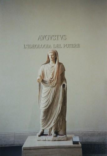 August as Pontifex Maximus, Palazzo Massimo alle Terme (Museo Nazionale Romano), Roma, Italia _ 0288