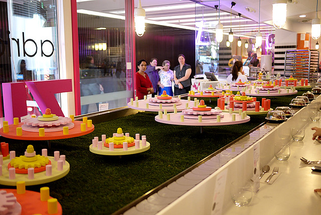 Dessert Train at Adriano Zumbo (The Star, Sydney)