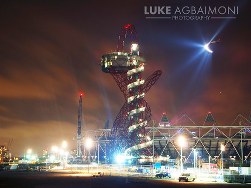 ArcelorMittal Orbit Tower - Crazy Lights at the London Olympic Stadium
