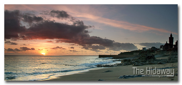 Sunset at Porthleven
