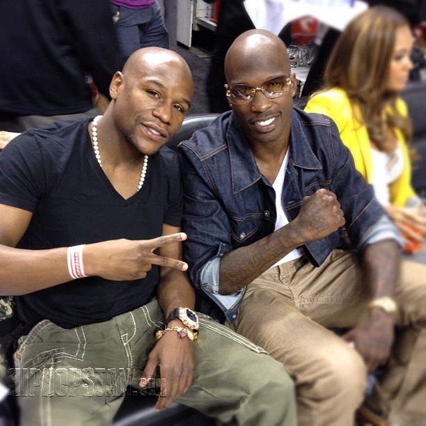floyd mayweather and jeremy lin (1)