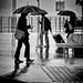Raindrops keep fallin' on my shoes by . Jianwei .