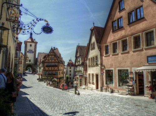 Rothenburg ob der Tauber,Bavaria,Germany