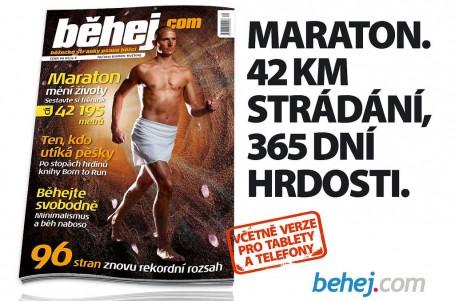 Nové Běhej.com odhaluje roušku bosoběhu, přidává maratonský trénink