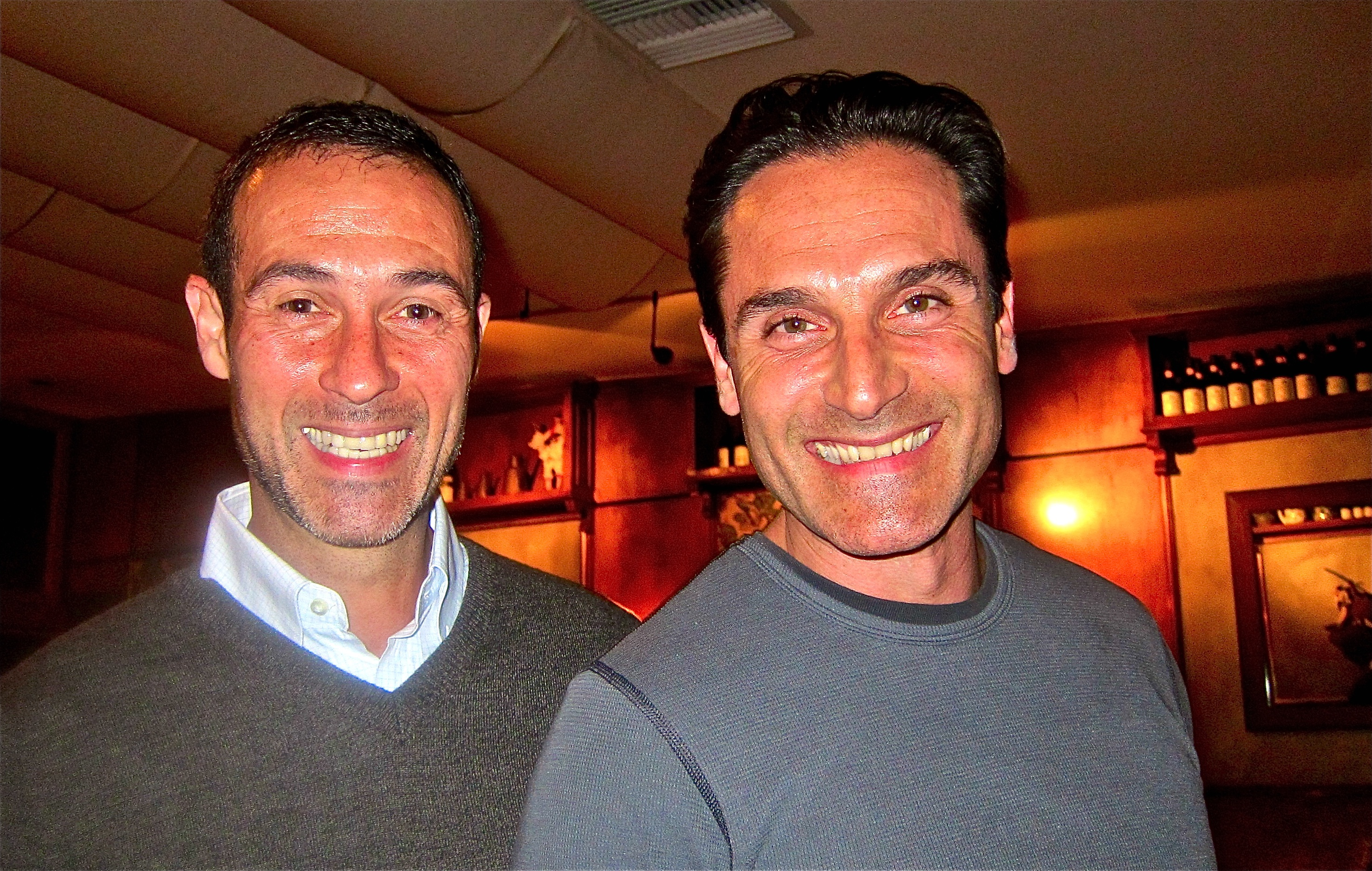 Co-owners Alberto Ferrari and Florstano Caraccioli