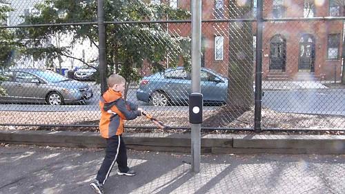 Batting practice year round from BatBanger.Com