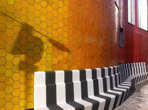 Lovely coloured ceramic tiles