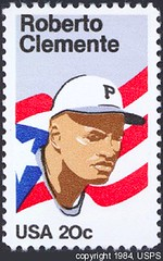 1984 Roberto Clemente stamp