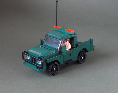 Green Army 4x4: 3