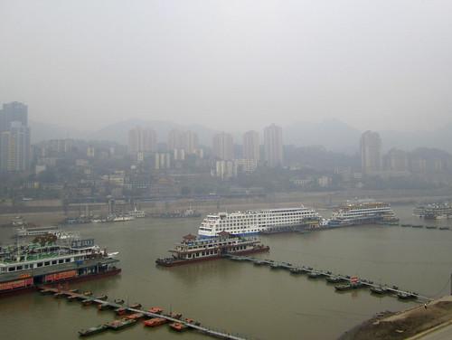 Chongqing Yangtze Cruise Ships