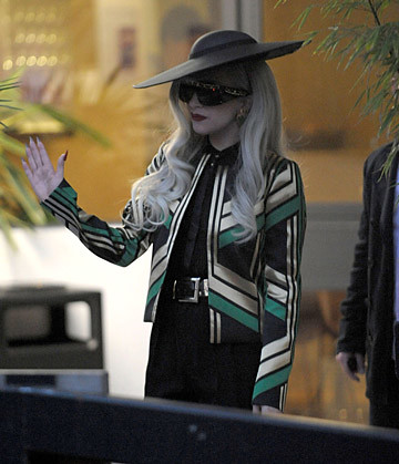 Lady Gaga in Gucci Sp 2012
