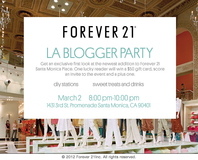 Final blogger party