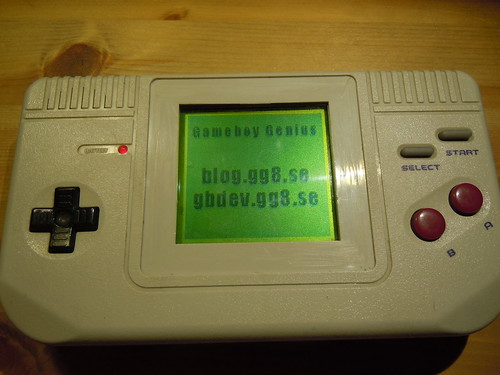 Game Fighter, Gameboy clone