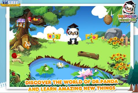 Dr. Panda App Screen Shot