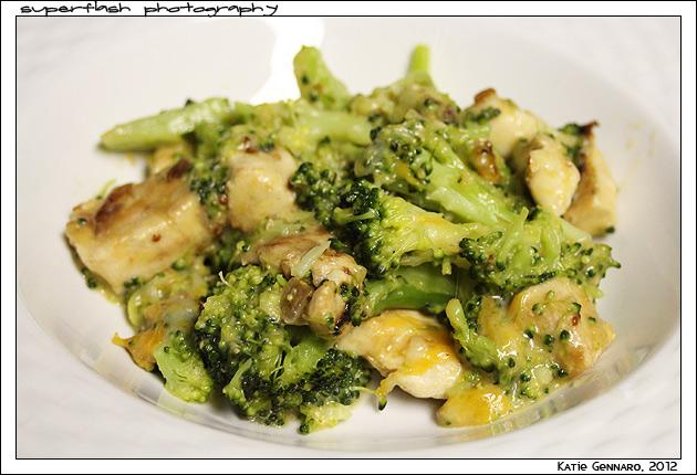 Broccoli-Chicken-Cheese Casserole