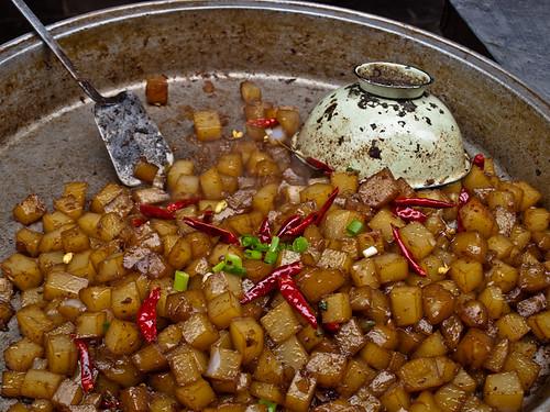 Comida china hui - patatas