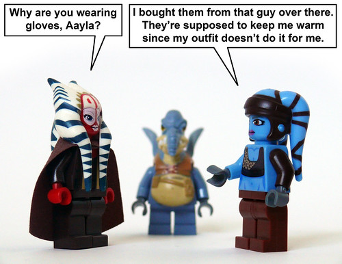Aayla's Gloves