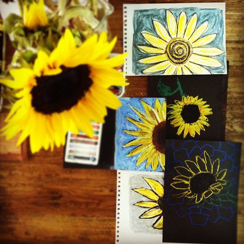 Sunflowers #stilltrying