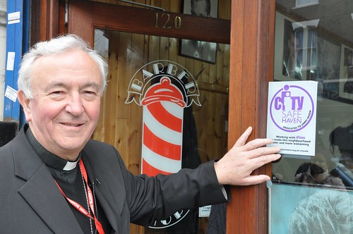Archbishop Nichols on a City Safe Walk