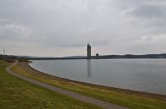 Lac et barrage de la Plate Taille