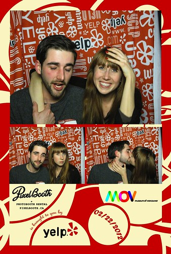 PixelBooth @ Yelp Vancouver's Night At The Museum