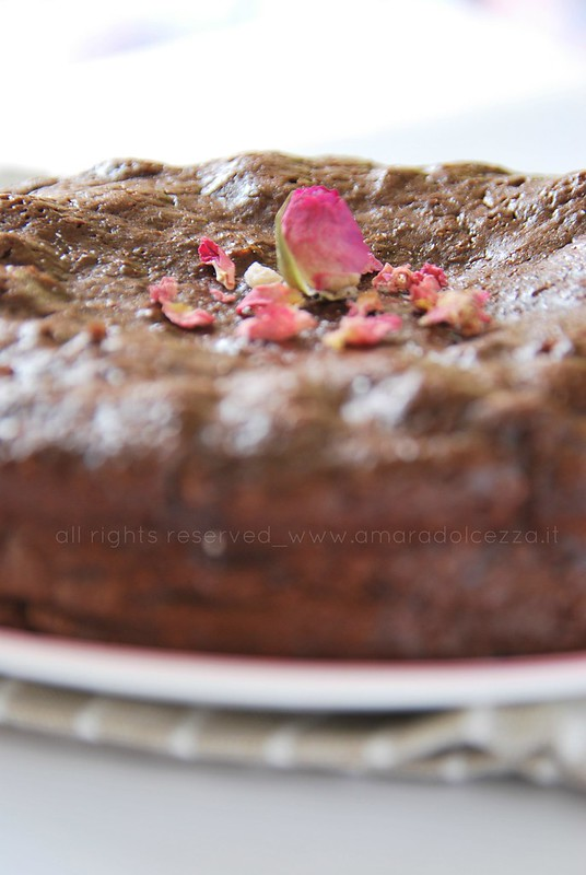 torta con sale alle rose