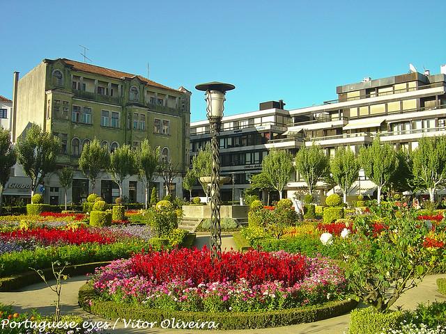 Braga Portugal Jardim De Santa Barbara~ Mobiliario De Jardim Em Braga