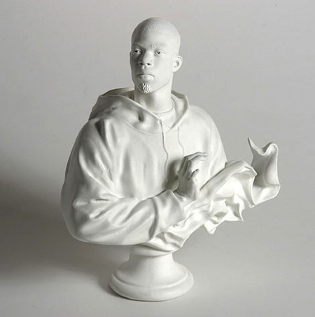 Kehinde Wiley Bust: Louis XVI, The Sun King