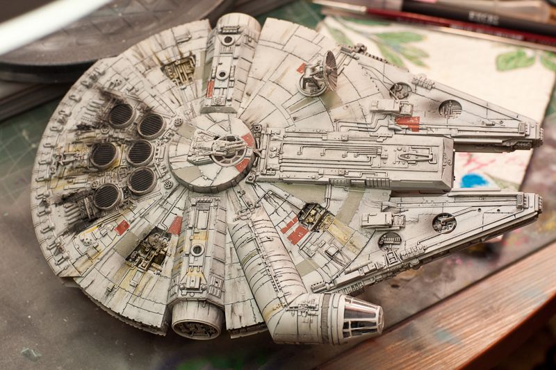 Finemolds Millenium Falcon 1/144
