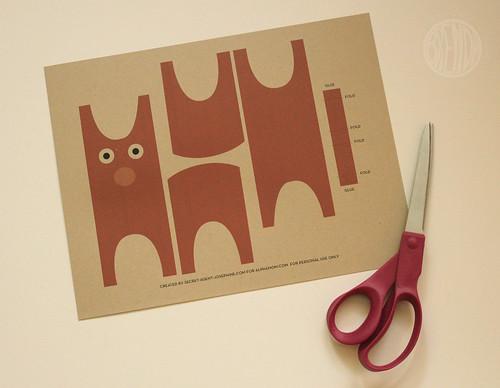 burro template