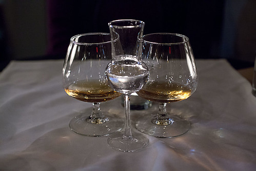 A pair of calvados & a grappa