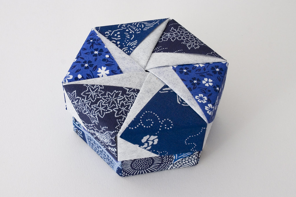 Enjoyable 94 Hexagonal Origami Box Instructions Hexagonal Origami Box Wiring Cloud Pendufoxcilixyz