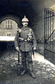 Infanterist Anton Auerhammer, bayer. Reserve-Infanterie-Regiment Nr. 2 / Beilpicke