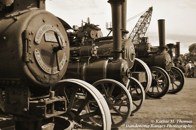 Steam engine line up