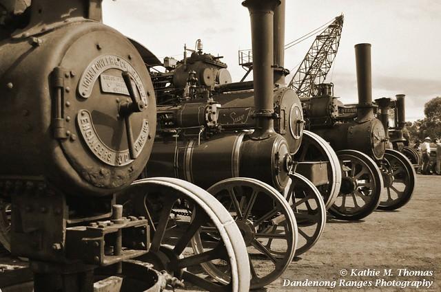 Steam engine line up