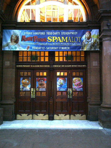 Spamalot, King's Theatre
